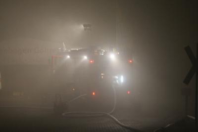 Fotoalbum Gebäudebrand Göhren
