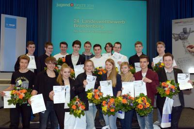 "Fotoalbum ""Jugend forscht"" 2014 - Die Sieger"