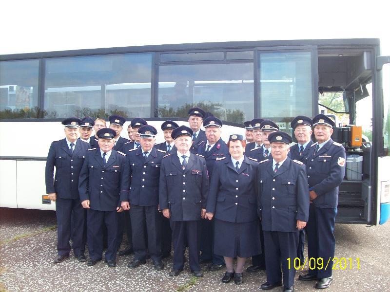 Gruppenfoto der AEA des Amtes Seelow-Land