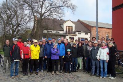 Fotoalbum 2. Anradeln 2014-Eine Radtour mit Events