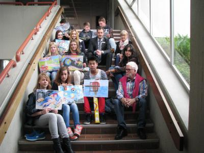 Fotoalbum Malwettbewerb Raiffeisenbank Much Ruppichteroth