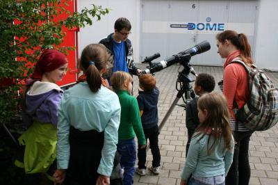 Fotoalbum Impressionen bei den Science Days