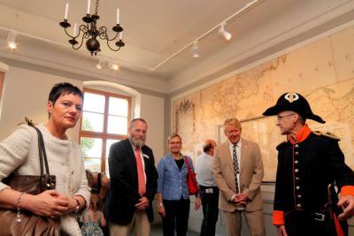 """Fotoalbum Ausstellungseröffnung: """"Reisegelegenheit nach Sachsen"""""""