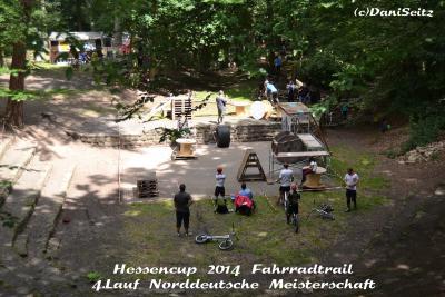 Fotoalbum Hessencup 2014 Fahrradtrail. 5.Lauf Norddeutsche Meisterschaft