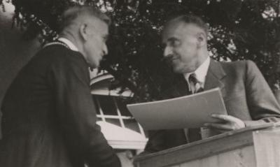 Foto des Albums: Die Wiedererhebung zur Stadt 1950 (11.08.1950)