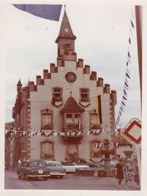 Foto des Albums: Feier in der Stadt Stühlingen (08.08.1962)