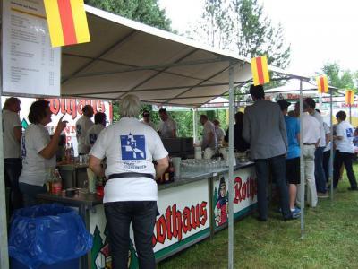 Foto des Albums: Frühschoppen mit den »Gälfiäßlern« (11.08.2012)