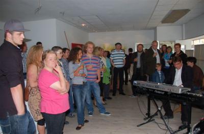 Foto des Albums: Kunst im Schaufenster, Vernissage (04.06.2012)