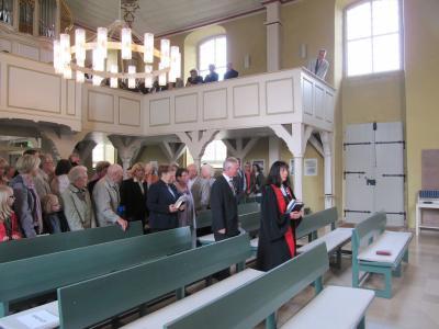 Fotoalbum Einführung neuer und Verabschiedung alter Kirchenvorstand
