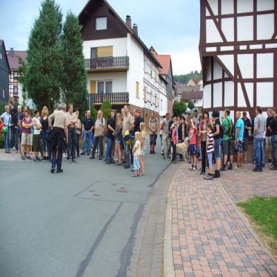 Fotoalbum Grenzgang Wollmar 2013