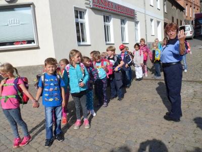 Fotoalbum Busschule, Klasse 1