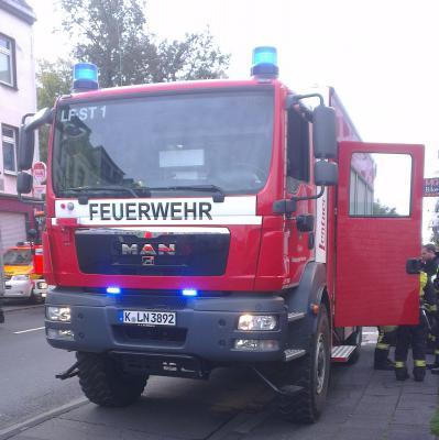 Fotoalbum Drohender Gebäudeeinsturz in Dellbrück