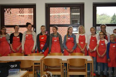 Fotoalbum Kinderleicht- dass neue Kochbuch wurde mit einem Kochevent mit Kindern vorgestellt.
