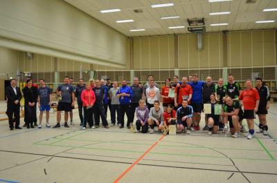 Fotoalbum Pokalübergabe zum Volleyballturnier