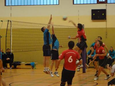 Fotoalbum Volleyball: Kremmener Havel SV (Männer I) vs. VC Teltow/Kleinmachnow