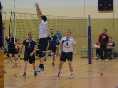 Fotoalbum Volleyball: Kremmener Havel SV (Männer I) vs. MSV Zossen 07