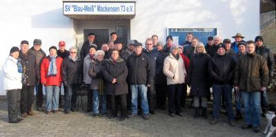 Fotoalbum Winterwanderung des SV Mackensen am 18. Januar 2015
