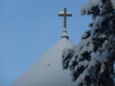 Fotoalbum Winterspaziergang über den Rangsdorfer Waldfriedhof im Dezember  2014