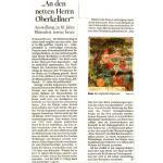 Fotoalbum Ausstellung Baumblüte