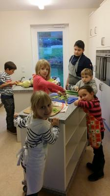 Fotoalbum Gemeinsam Kochen und Backen