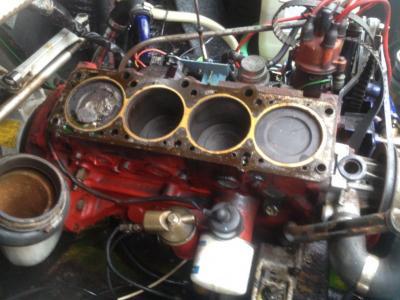 Fotoalbum Reparatur Motor 2014