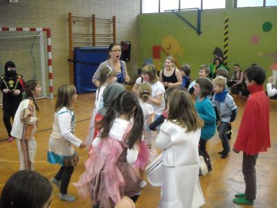 Fotoalbum Faschingstreiben in der Grundschule