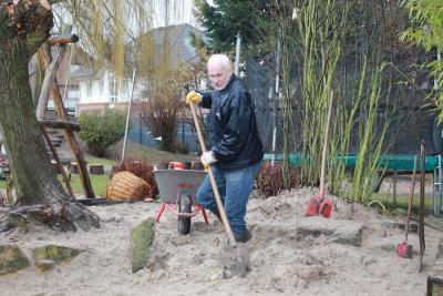 Fotoalbum Gartengestaltung Elternaktion 2013