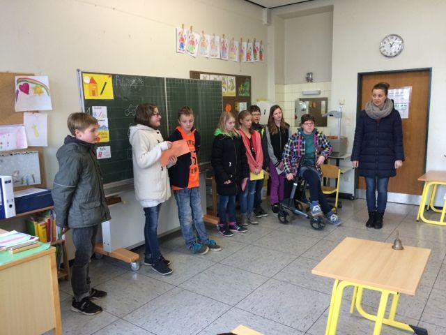 Grundschule Freren - Einladung zum gemeinsamen Frühstück