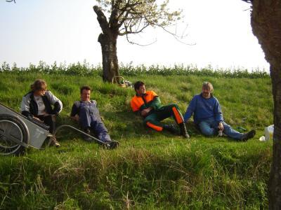 Fotoalbum Landschaftspflege - Entbuschung am Kirschberg