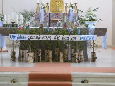 Fotoalbum Weißer Sonntag in Wieden