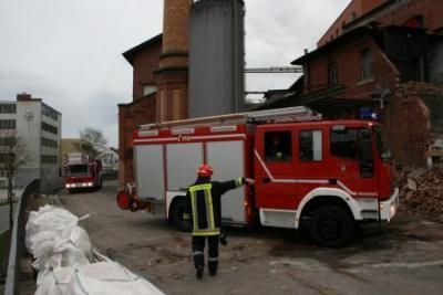 Fotoalbum Großübung in der ehemaligen Sturms Brauerei