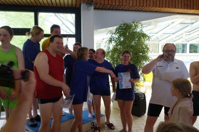 Fotoalbum BSV-Schwimmer beim Mühlenkreisschwimmfest