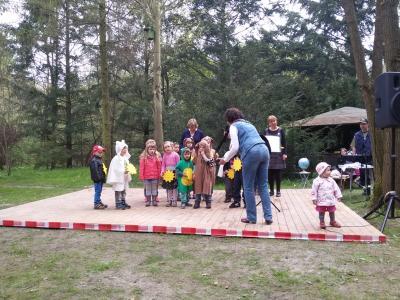 Fotoalbum Die Si-Sa-Singemäuse beim 18. Forstlehrgarten-Fest
