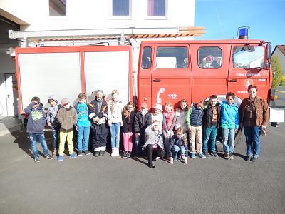 Fotoalbum Besuch Schulklasse Grundschule Poppenhausen
