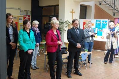 Fotoalbum Besuch der Kultusministerin Frau Heiligenstadt