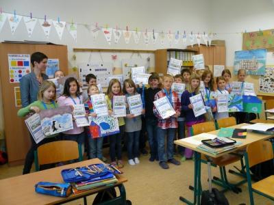 Fotoalbum Malwettbewerb der Raiffeisen Bank (GS Breddin)