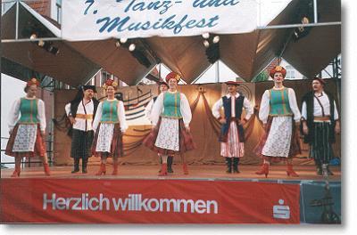Fotoalbum Rückblick auf das Internationale Tanz – und Musikfest in Bad Salzungen