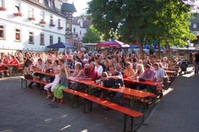 Fotoalbum 12. Tanz - und Musikfest 2006 in Bad Salzungen