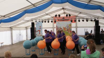 Fotoalbum Frühlingsfest Doberlug-Kirchhain und die Sportler von unserer Drums Alive® Gruppe
