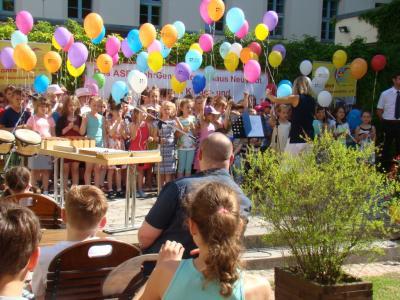 Fotoalbum Chorauftritt beim Kinderfest