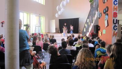 Foto des Albums: Eröffnung des Lesesommers XXL (10.06.2015)