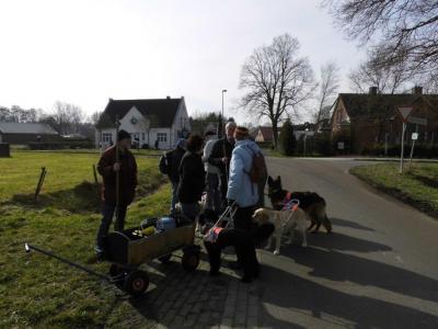 Fotoalbum Führhund Aktiv 2015 - Bosseln in Ostfriesland