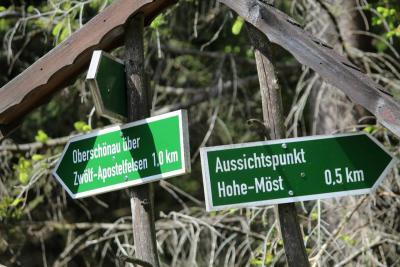 """Fotoalbum Wanderung zur """"hohen Möst"""""""