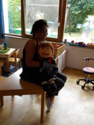 Fotoalbum Brandschutzerziehung im Kindergarten Reundorf