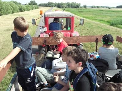 Fotoalbum Ausflug in das Begegnungszentrum Lunow, Klasse 3