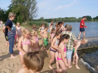 Fotoalbum Schulausflug zum Baggersee in Gusow
