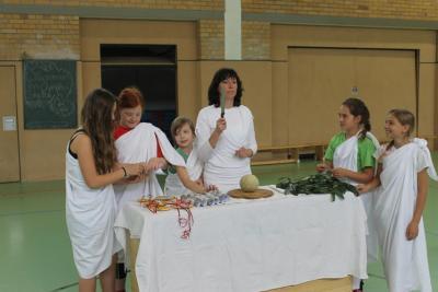 Fotoalbum Olympische Woche an unserer Schule