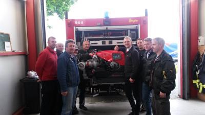 Fotoalbum Balower Feuerwehr mit neuer Technik