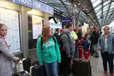 Fotoalbum Klassenfahrt der W3 nach Berlin