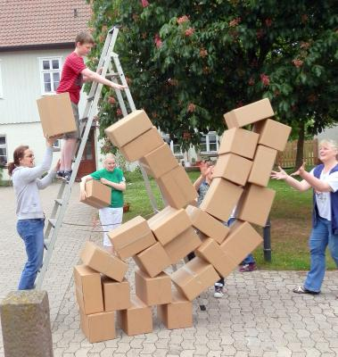 """Fotoalbum Familiengottesdienst """"Turmbau zu Babel"""""""